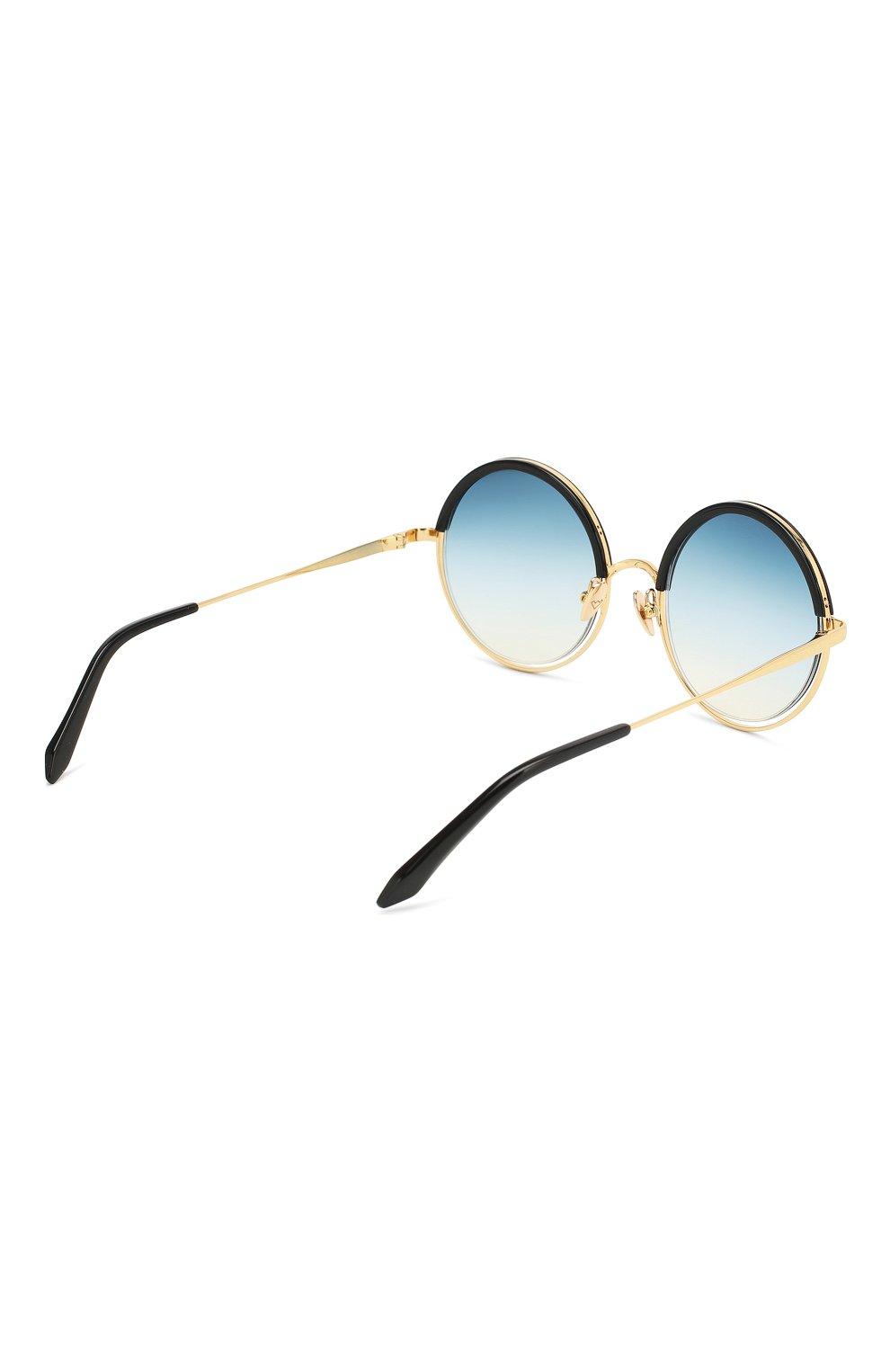 Женские солнцезащитные очки SPEKTRE синего цвета, арт. DECHIRIC0 01BFT | Фото 4