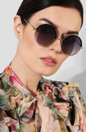 Женские солнцезащитные очки SPEKTRE темно-синего цвета, арт. DECHIRIC0 01AFT | Фото 2
