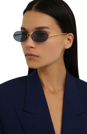 Женские солнцезащитные очки SPEKTRE темно-синего цвета, арт. B0CCI0NI 01CFT | Фото 2 (Статус проверки: Проверена категория, Проверено; Тип очков: С/з)