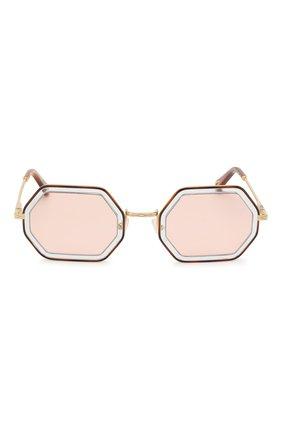 Солнцезащитные очки Chloé светло-розовые   Фото №3