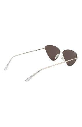Женские солнцезащитные очки BALENCIAGA черного цвета, арт. BB0015 004 | Фото 4
