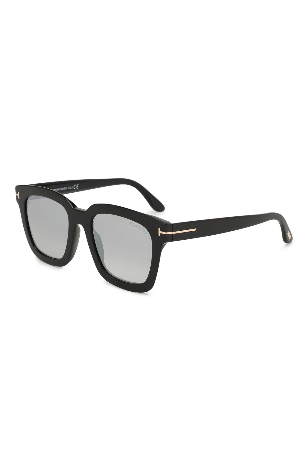 Женские солнцезащитные очки TOM FORD черного цвета, арт. TF690 01C | Фото 1