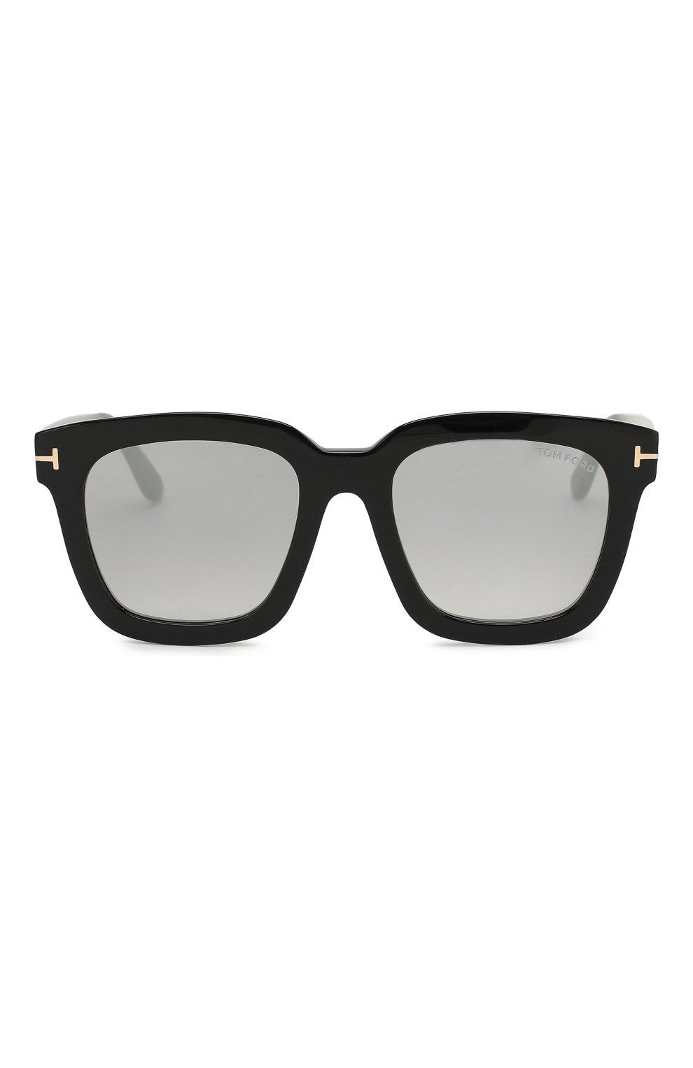 Женские солнцезащитные очки TOM FORD черного цвета, арт. TF690 01C | Фото 3