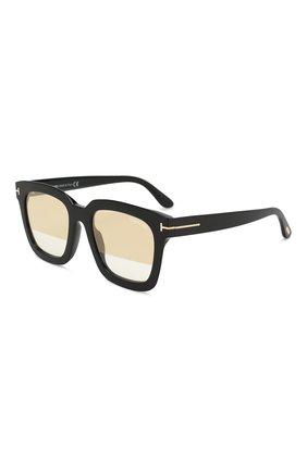 Солнцезащитные очки Tom Ford черные | Фото №1