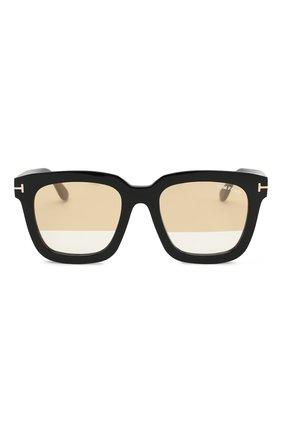 Солнцезащитные очки Tom Ford черные | Фото №3