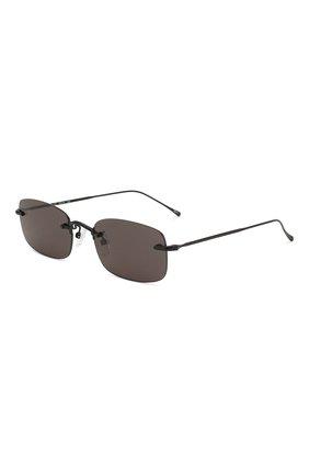 Женские солнцезащитные очки ILLESTEVA черного цвета, арт. B0VALIN0 MATTE BLACK   Фото 1 (Тип очков: С/з)