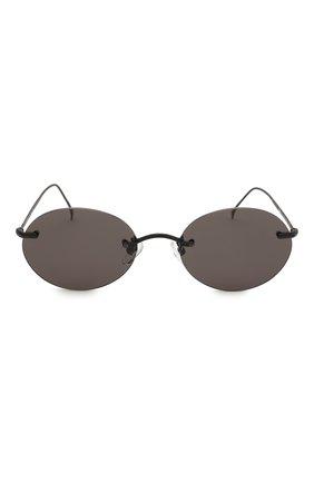 Женские солнцезащитные очки ILLESTEVA черного цвета, арт. NIC0TERA MATTE BLACK   Фото 3