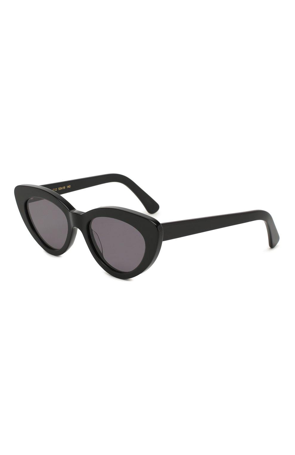 Женские солнцезащитные очки ILLESTEVA черного цвета, арт. PAMELA BLACK/GREY | Фото 1