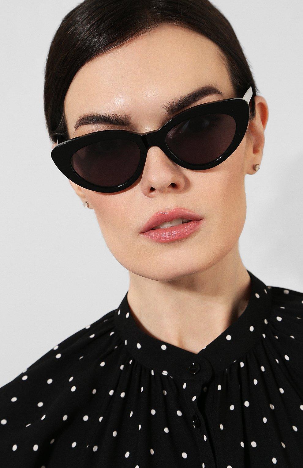 Женские солнцезащитные очки ILLESTEVA черного цвета, арт. PAMELA BLACK/GREY | Фото 2