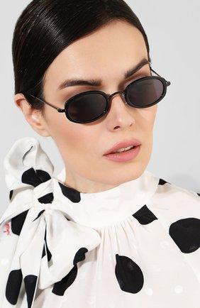 Женские солнцезащитные очки ILLESTEVA черного цвета, арт. RAVELL0 BLACK   Фото 2 (Тип очков: С/з)