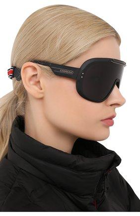 Женские солнцезащитные очки CARRERA черного цвета, арт. CARRERA EPICA 003 | Фото 2