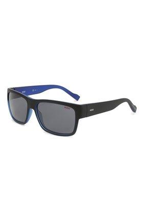 Мужские солнцезащитные очки BOSS синего цвета, арт. 0176 0VK   Фото 1
