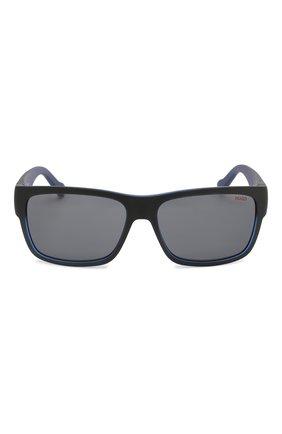 Мужские солнцезащитные очки BOSS синего цвета, арт. 0176 0VK   Фото 2