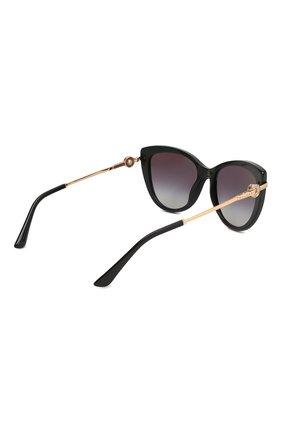 Солнцезащитные очки BVLGARI черные | Фото №4