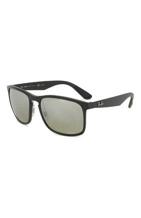 Мужские солнцезащитные очки RAY-BAN черного цвета, арт. 4264-601S5J | Фото 1