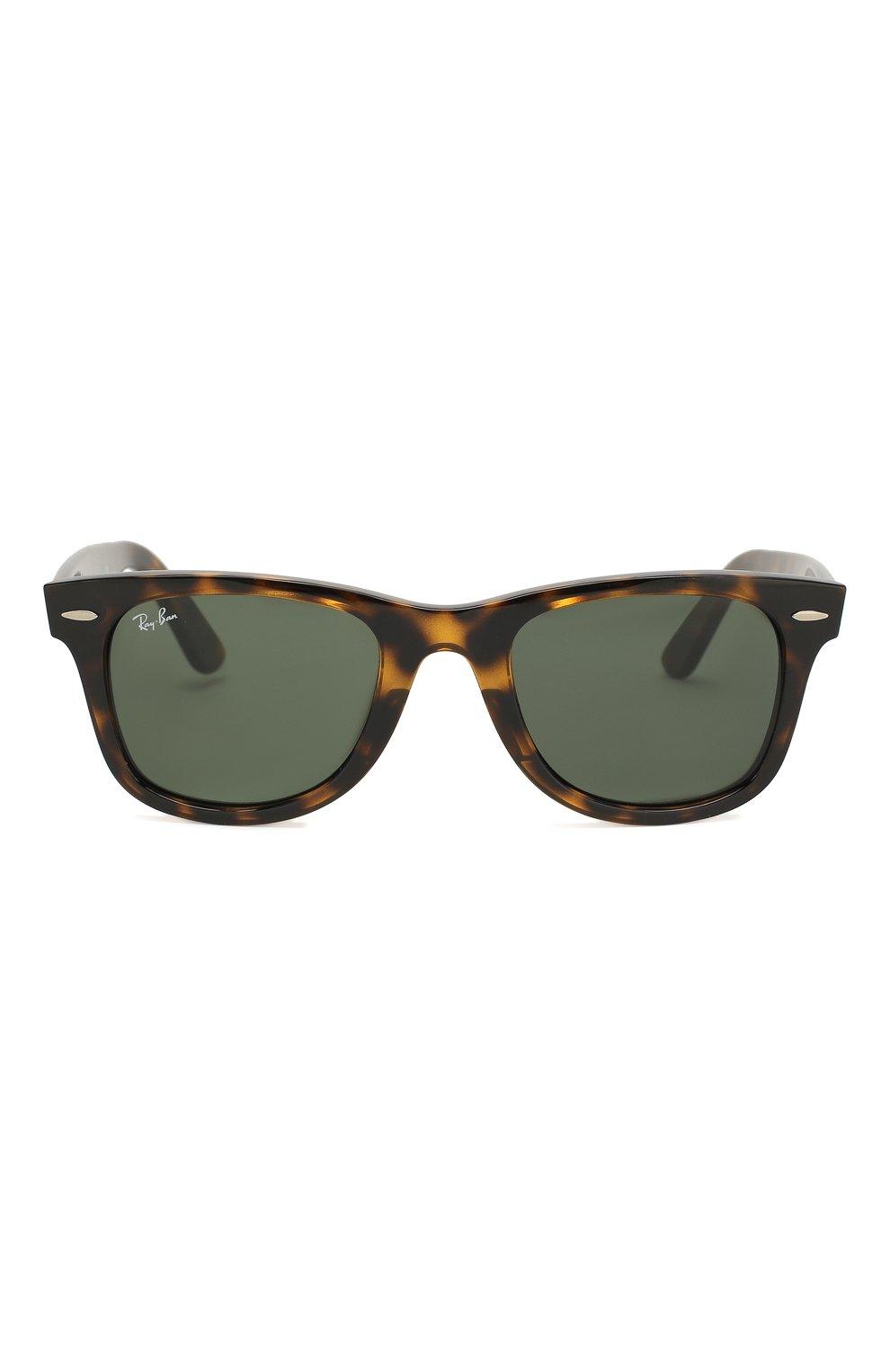 Мужские солнцезащитные очки RAY-BAN коричневого цвета, арт. 4340-710   Фото 2