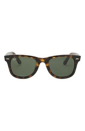 Мужские солнцезащитные очки RAY-BAN коричневого цвета, арт. 4340-710 | Фото 2