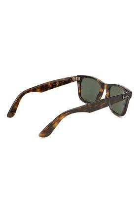 Мужские солнцезащитные очки RAY-BAN коричневого цвета, арт. 4340-710   Фото 3