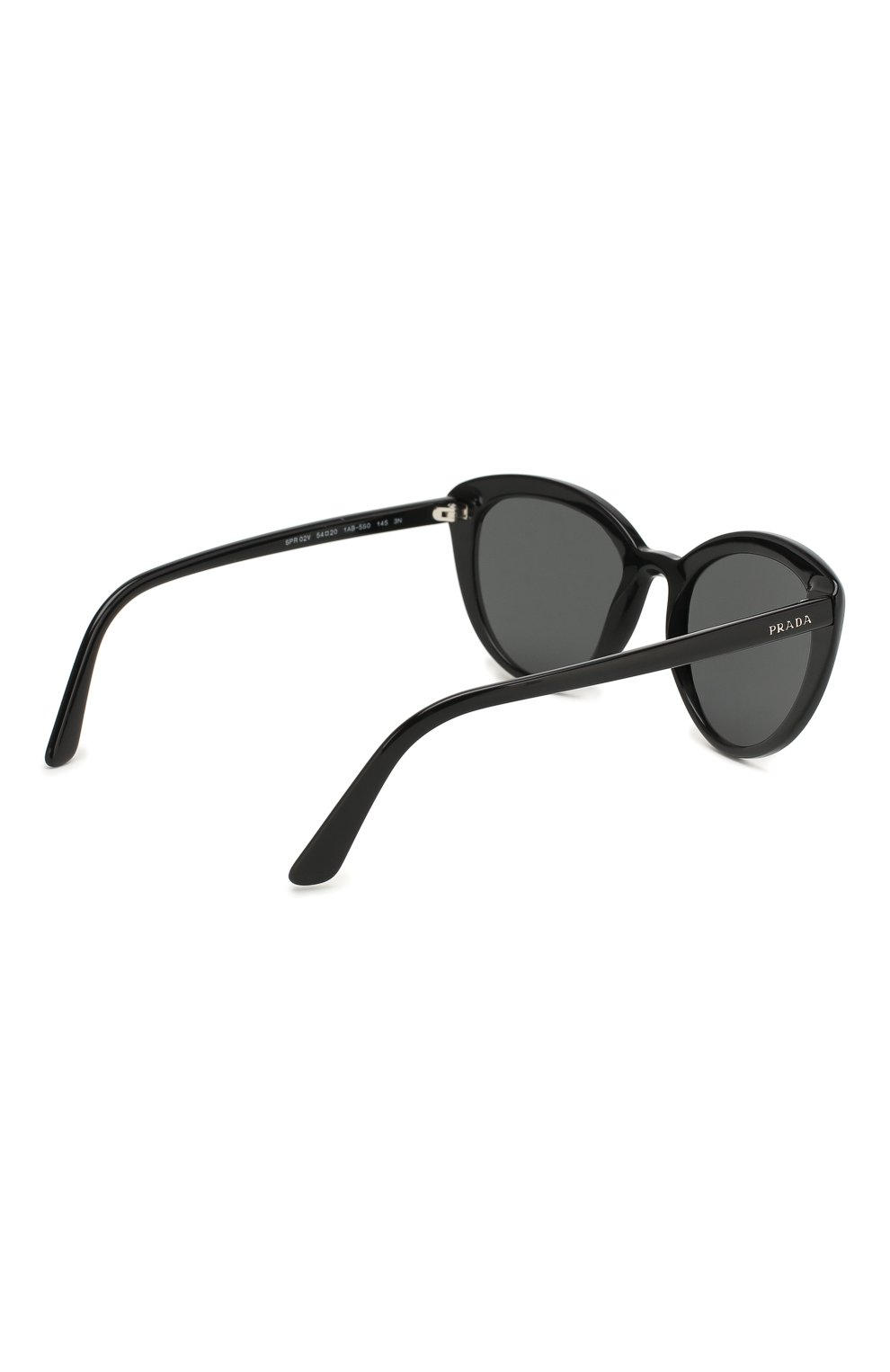 Женские солнцезащитные очки PRADA черного цвета, арт. 02VS-1AB5S0 | Фото 4