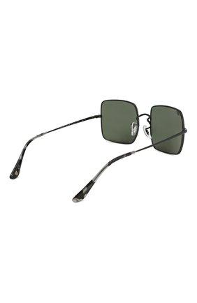 Женские солнцезащитные очки RAY-BAN черного цвета, арт. 1971-914831 | Фото 4