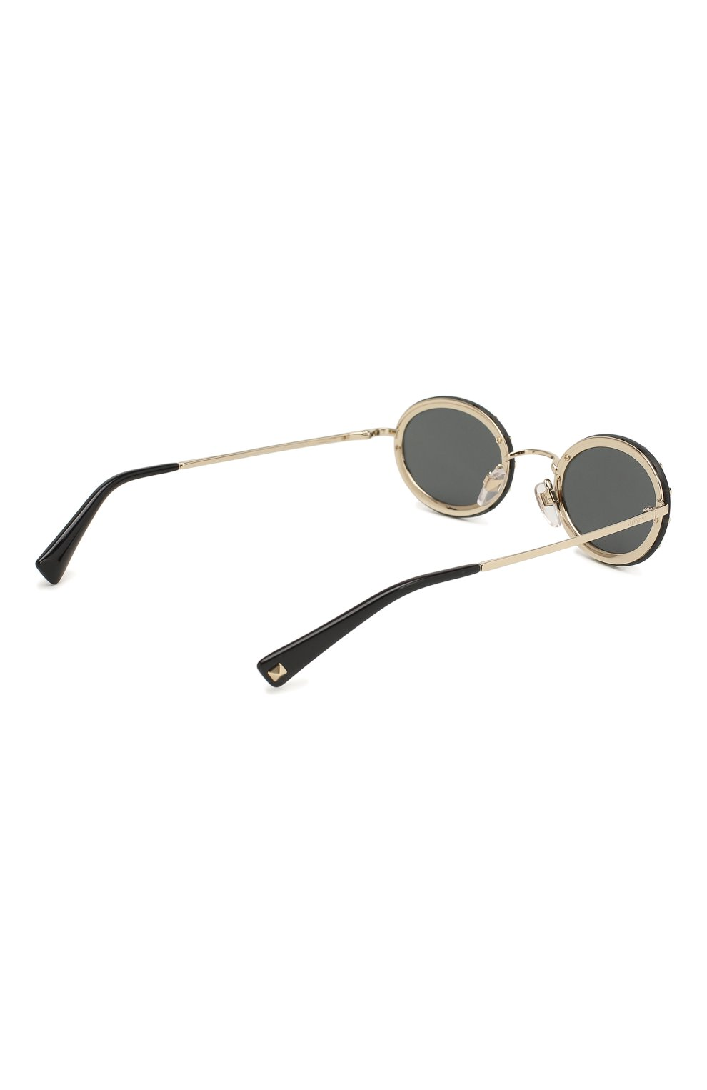 Женские солнцезащитные очки VALENTINO черного цвета, арт. 2027-300387 | Фото 4