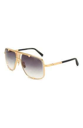 Мужские солнцезащитные очки DITA золотого цвета, арт. MACH-FIVE/2087F | Фото 1