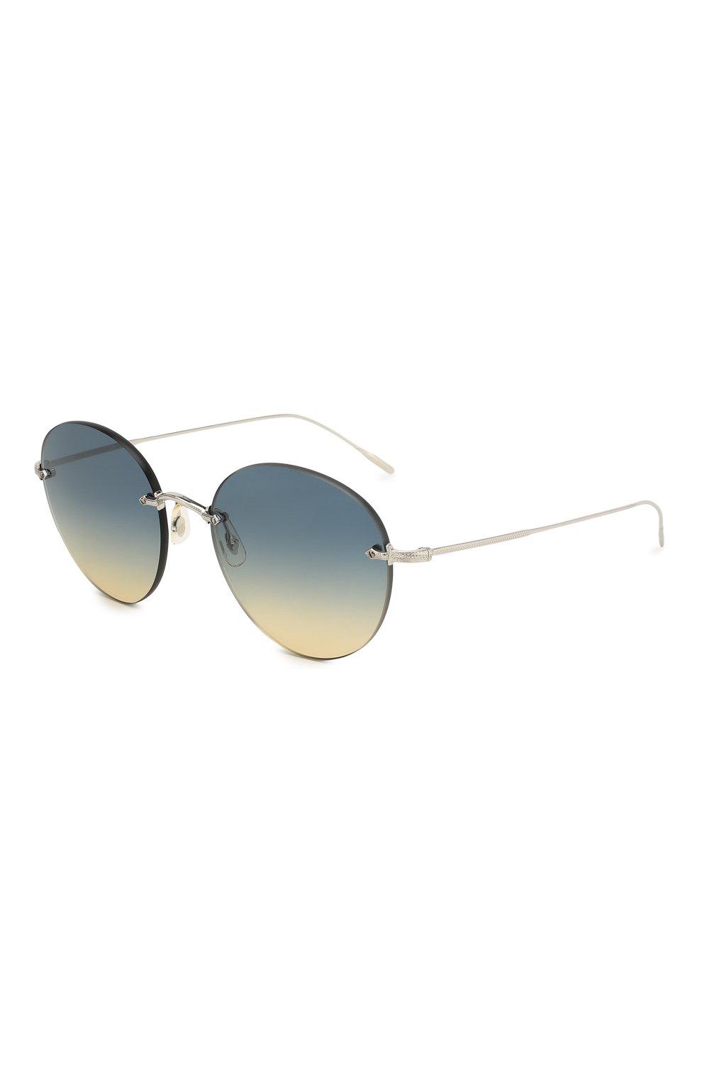 Женские солнцезащитные очки OLIVER PEOPLES синего цвета, арт. 1264S-503679 | Фото 1