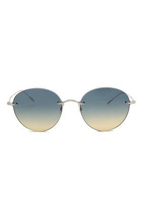 Женские солнцезащитные очки OLIVER PEOPLES синего цвета, арт. 1264S-503679 | Фото 3