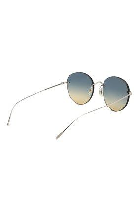 Женские солнцезащитные очки OLIVER PEOPLES синего цвета, арт. 1264S-503679 | Фото 4