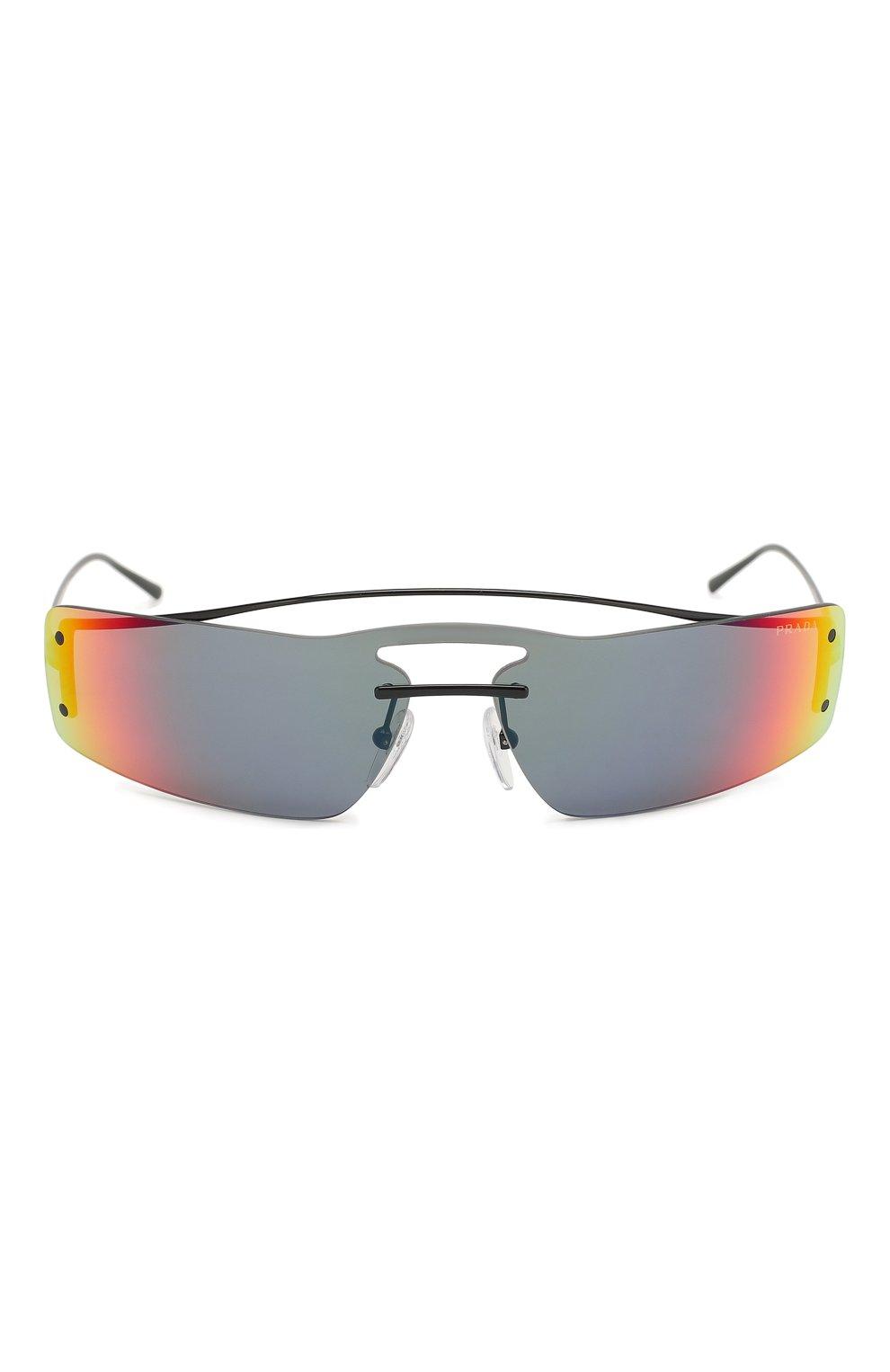 Солнцезащитные очки Prada разноцветные | Фото №3