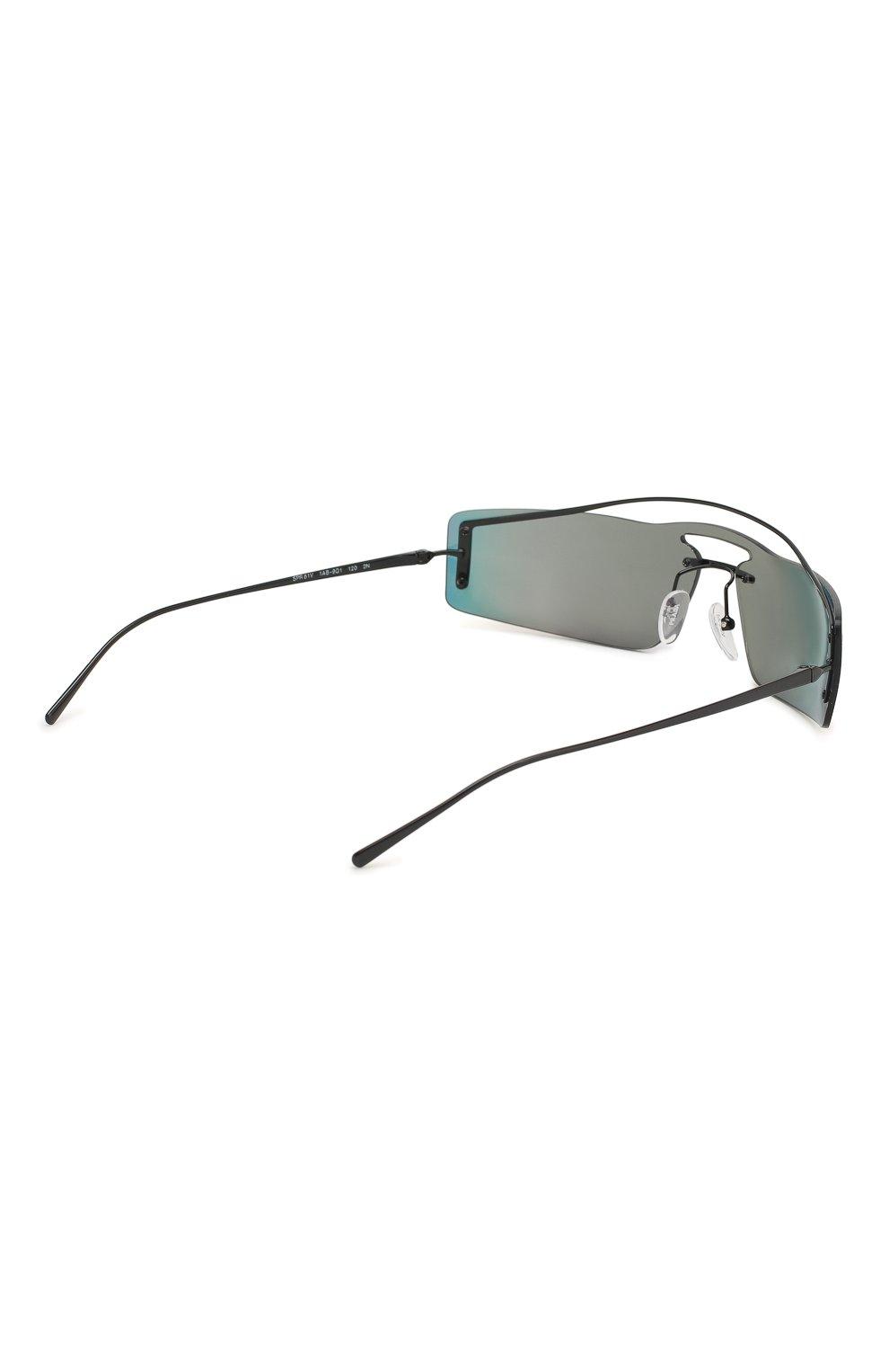 Солнцезащитные очки Prada разноцветные | Фото №4