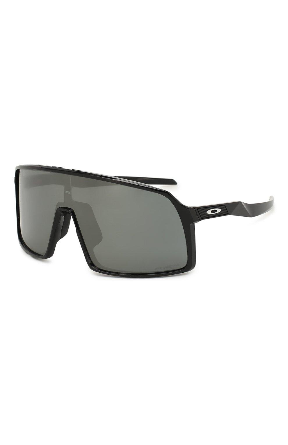 Женские солнцезащитные очки OAKLEY черного цвета, арт. 9406-940601 | Фото 1
