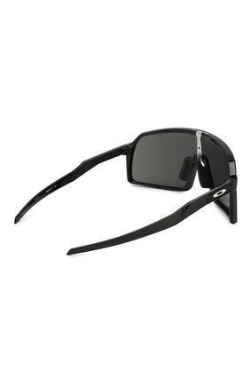 Женские солнцезащитные очки OAKLEY черного цвета, арт. 9406-940601 | Фото 4