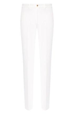 Мужские хлопковые брюки RALPH LAUREN белого цвета, арт. 790588859 | Фото 1