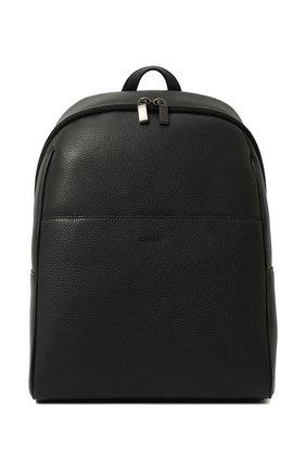 Мужской кожаный рюкзак CANALI темно-синего цвета, арт. P325918/NA00051 | Фото 1