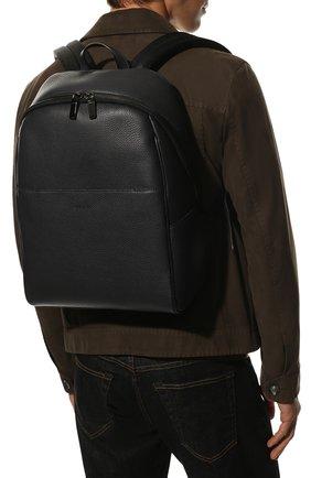 Мужской кожаный рюкзак CANALI темно-синего цвета, арт. P325918/NA00051 | Фото 2