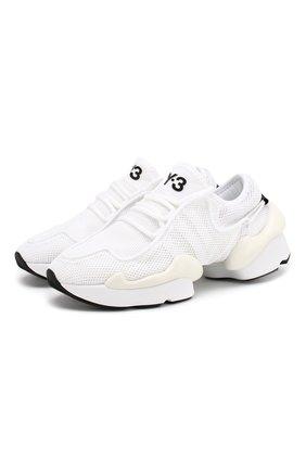 Мужские текстильные кроссовки prophere Y-3 белого цвета, арт. F99798/W   Фото 1