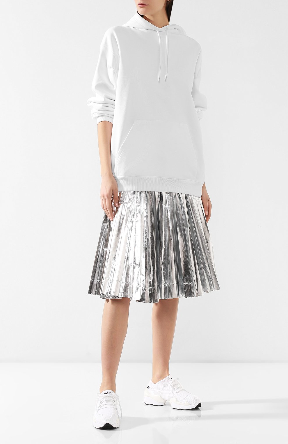 Мужские текстильные кроссовки prophere Y-3 белого цвета, арт. F99798/W   Фото 2