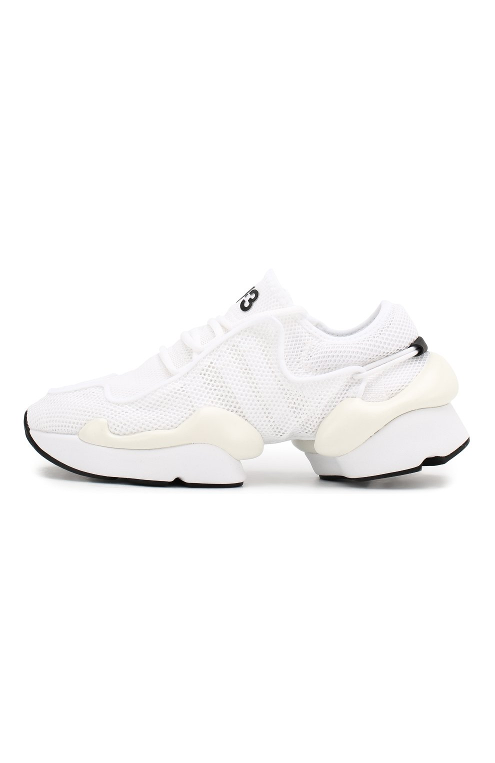 Мужские текстильные кроссовки prophere Y-3 белого цвета, арт. F99798/W   Фото 3