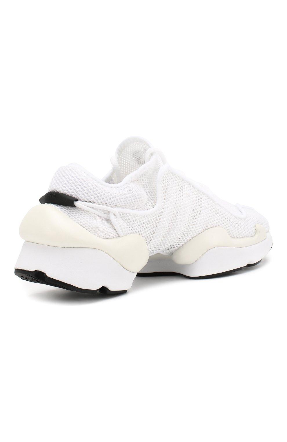 Мужские текстильные кроссовки prophere Y-3 белого цвета, арт. F99798/W   Фото 4