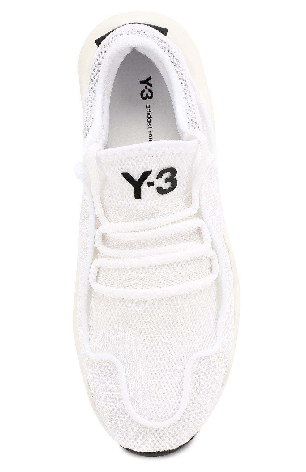 Мужские текстильные кроссовки prophere Y-3 белого цвета, арт. F99798/W   Фото 5