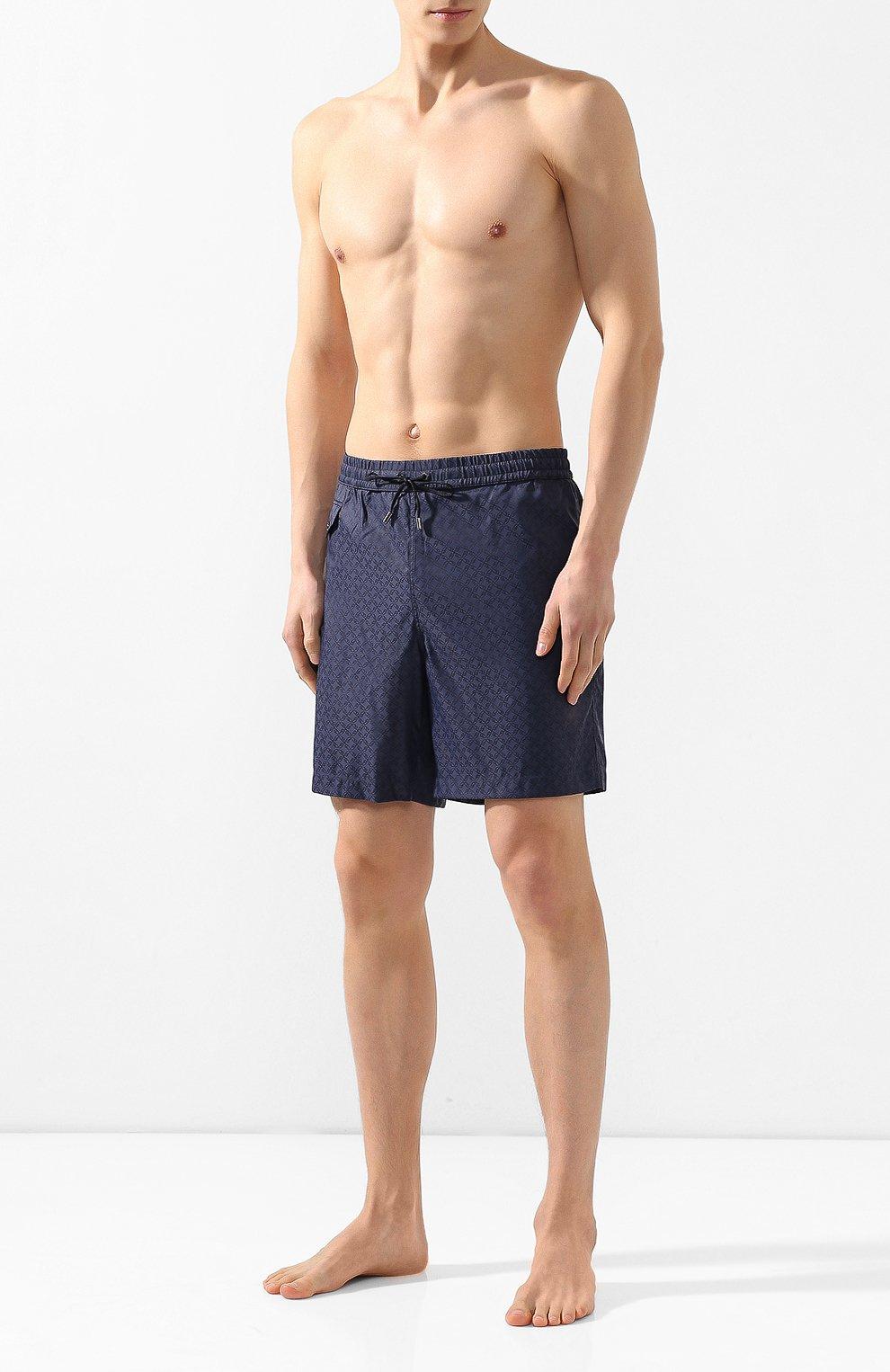 Плавки-шорты Brioni темно-синие | Фото №2