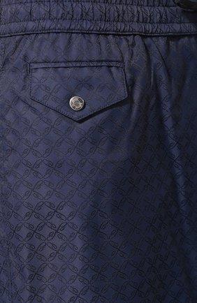 Плавки-шорты Brioni темно-синие | Фото №5