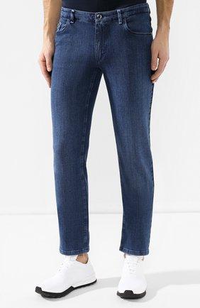 Мужские джинсы прямого кроя ZILLI темно-синего цвета, арт. MCR-00209-JABI3/S001 | Фото 3