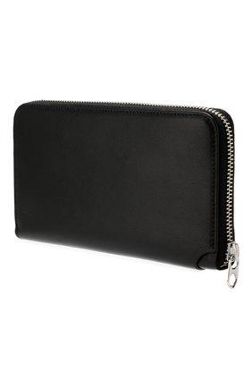 Мужской кожаное портмоне KENZO черного цвета, арт. 5PM705L42 | Фото 2