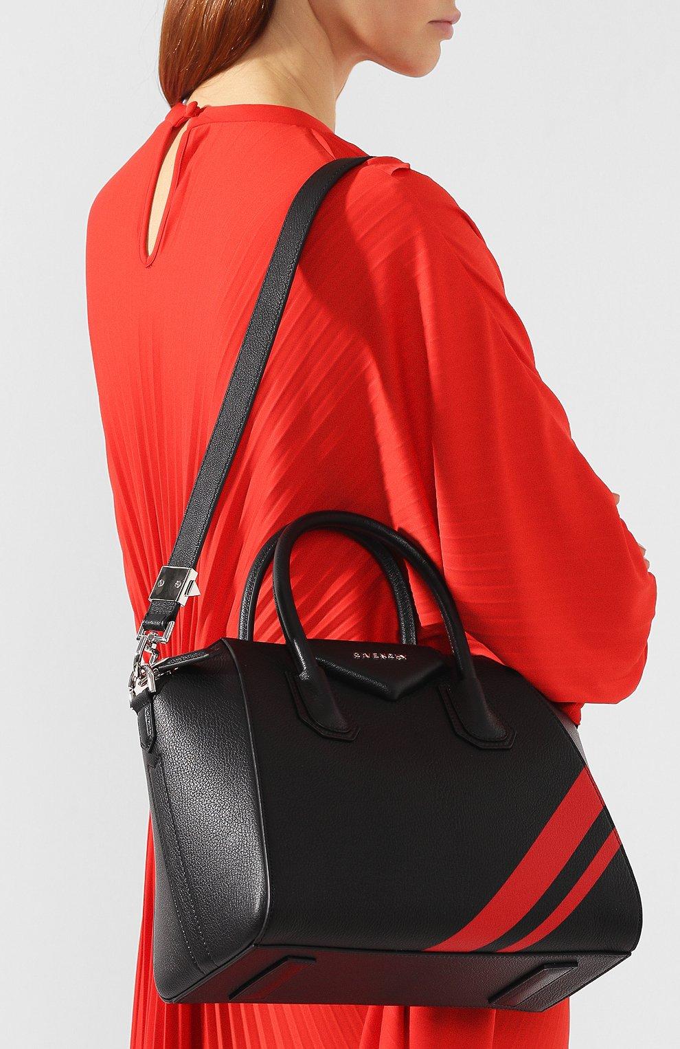 Сумка Antigona small Givenchy черная цвета   Фото №5