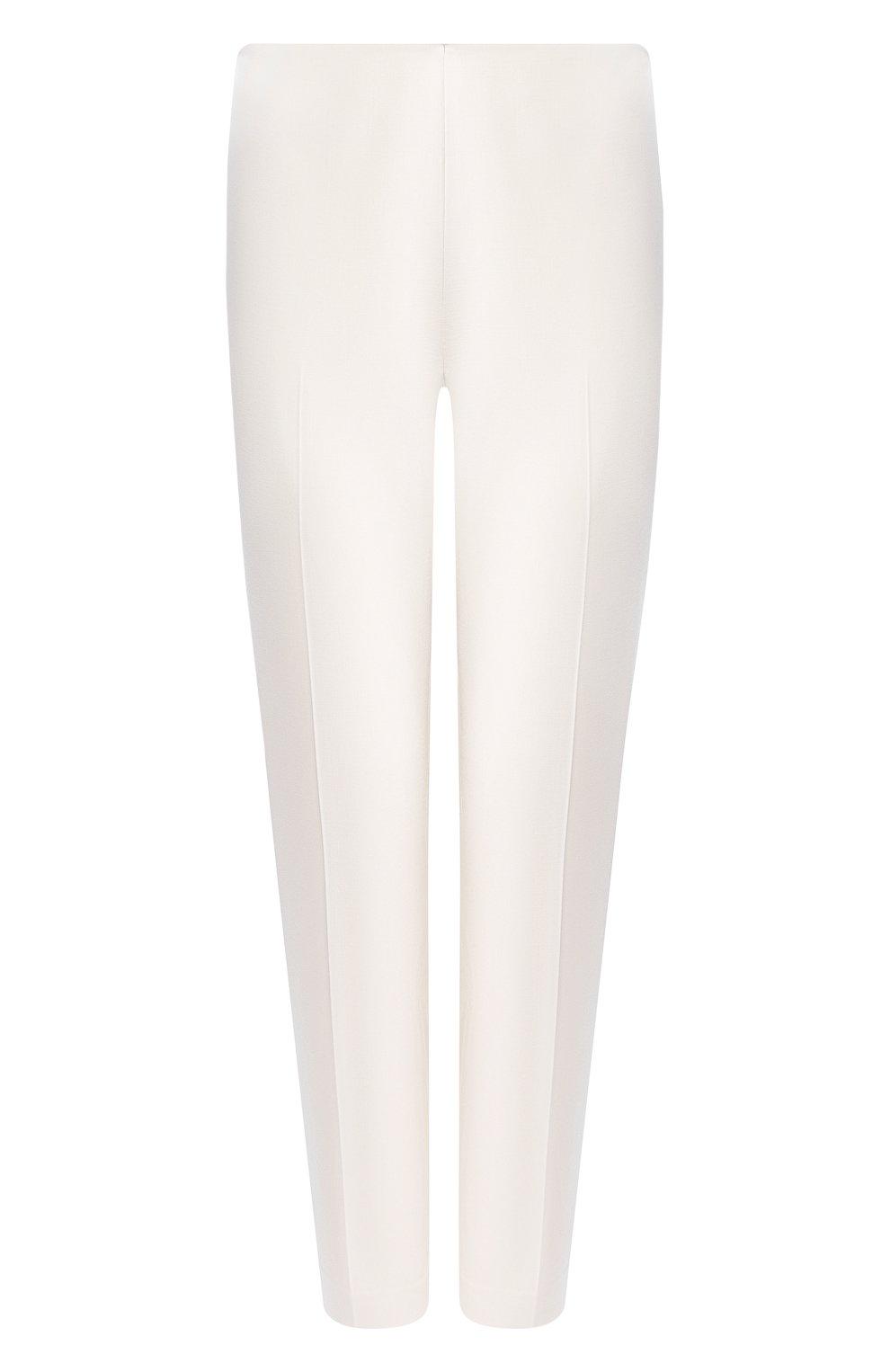 Шерстяные брюки Ralph Lauren кремовые | Фото №1