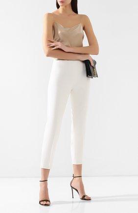 Женские шерстяные брюки RALPH LAUREN кремвого цвета, арт. 290617475 | Фото 2