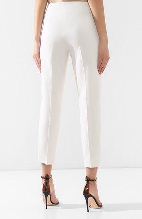 Шерстяные брюки Ralph Lauren кремовые | Фото №4