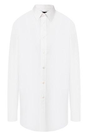 Женская хлопковая рубашка RALPH LAUREN белого цвета, арт. 290651263 | Фото 1